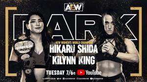 2020-12-15 Hikaru Shida c. Kilynn King