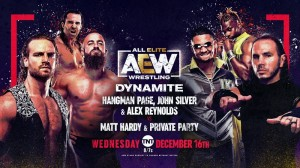 2020-12-16 Adam Page et Dark Order c. Matt Hardy et Private Party