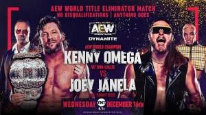 2020-12-16 Kenny Omega avec Don Callis c. Joey Janela avec Sonny Kiss