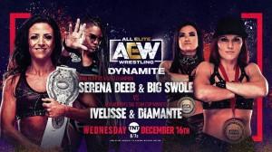 2020-12-16 Serena Deeb et Big Swole c. Ivelisse et Diamanté