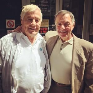 Deux personnes qui se vouaient un respect mutuel: Pat et Gino Brito