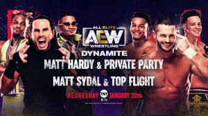 2021-01-20 Matt Sydal et Top Flight c. Matt Hardy et Private Party