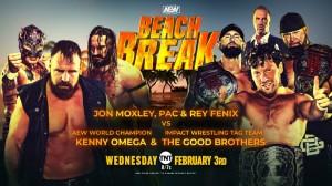 2021-02-03 Jon Moxley, PAC et Rey Fénix c. Bullet Club