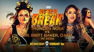 2021-02-03 Thunder Rosa c. Dr. Britt Baker, DMD