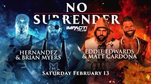 2021-02-13 Hernandez et Brian Myers c. Eddie Edwards et Matt Cardona