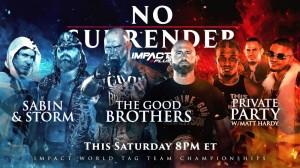 2021-02-13 James Storm et Chris Sabin c. Good Brothers c. Private Party