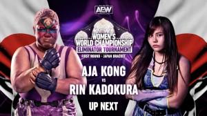 2021-02-15 Aja Kong c. Rin Kadokura