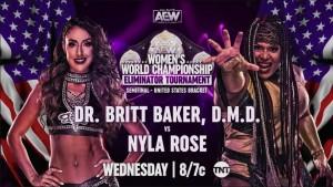 2021-02-24 Dr. Britt Baker, DMD c. Nyla Rose