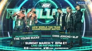 2021-03-07 Young Bucks c. Chris Jericho et MJF