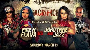 2021-03-13 Fire 'N Flava c. Jordynne Grace et Jazz