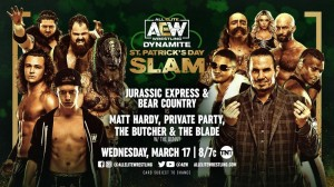 2021-03-17 Jurassic Express et Bear Country c. Matt Hardy, Private Party et The Butcher & The Blade