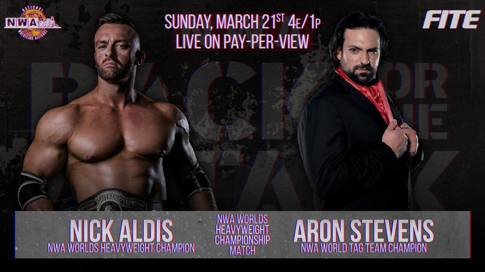 2021-03-21 Nick Aldis c. Aron Stevens