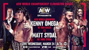 2021-03-24 Kenny Omega c. Matt Sydal