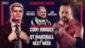 2021-03-31 Cody Rhodes c. QT Marshall