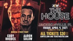 2021-04-09 Cody Rhodes c. Aaron Solow